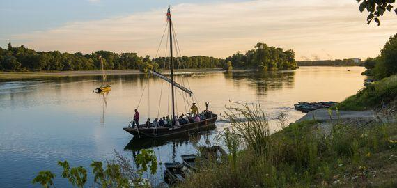 Giro in barca sulla Loira © D. Darrault