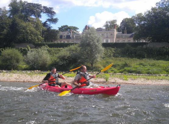 DECOUVERTE DE LA LOIRE EN KAYAK