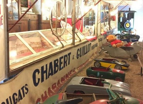 Stand fête foraine & voitures à pédale - Musée Maurice Dufresne