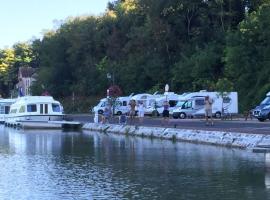 aire de camping cars le Port Châtillon-sur-Loire