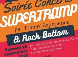 Affiche soirée Concerts La Marne