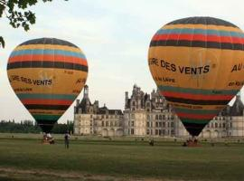 AU GRE DES VENTS - DEPART DE CHEVERNY