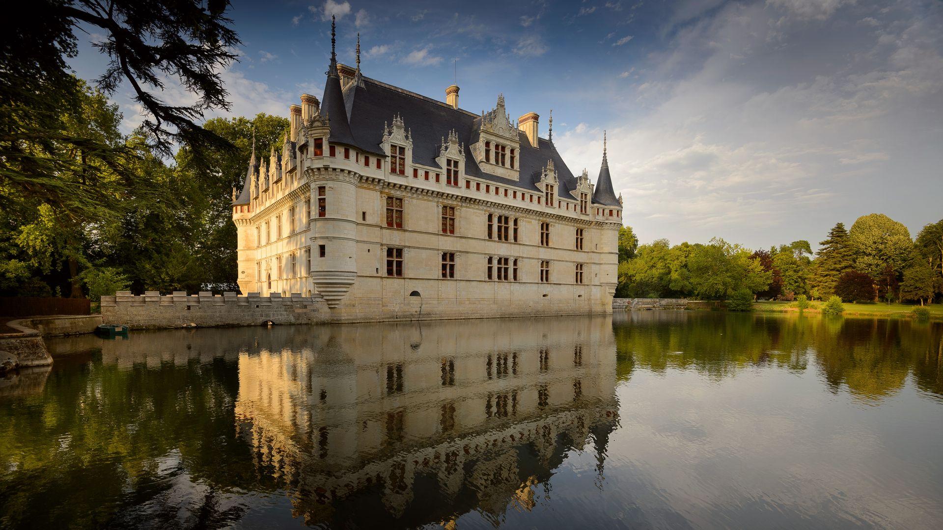 Il castello di azay le rideau valle della loira una passeggiata in francia - Visite chateau azay le rideau ...